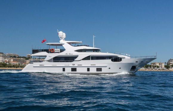 Аренда яхты Benetti Delfino 28m