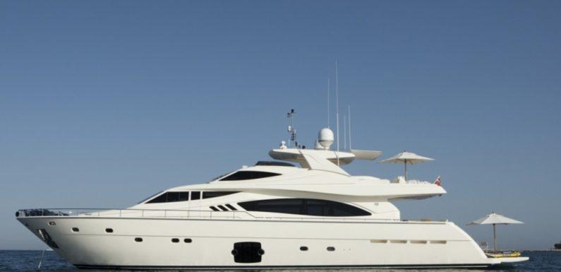 Аренда яхты Ferretti 881 SANS ABRI