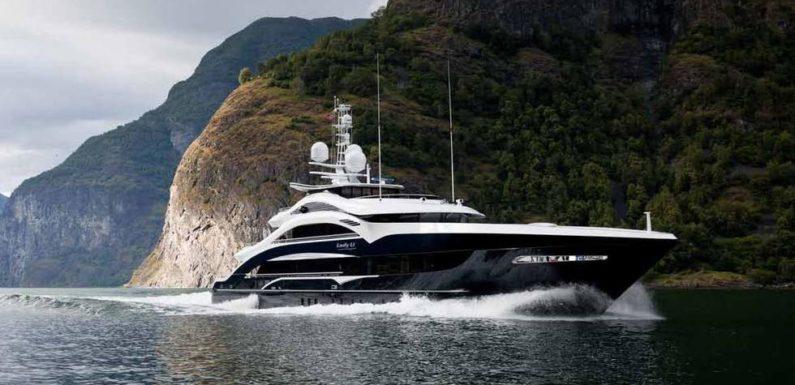 Аренда яхты LADY LI 50m Heesen
