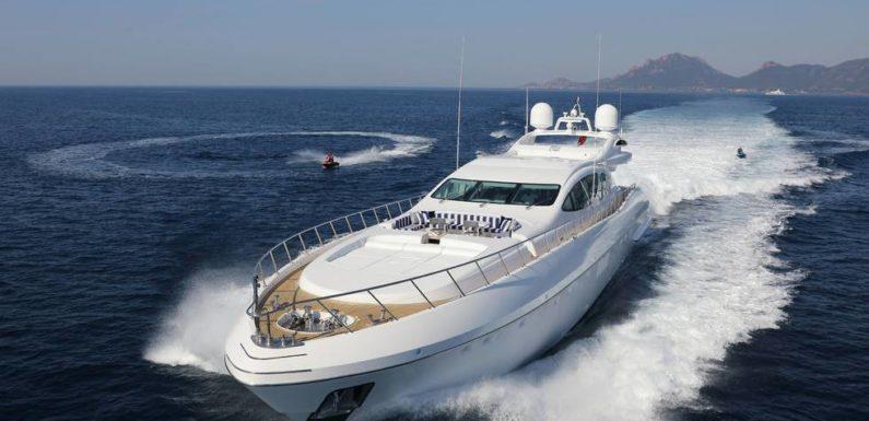 Аренда яхты Mangusta VENI VEDI VINCI