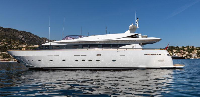 Аренда яхты Mondomarine 95′ TALILA