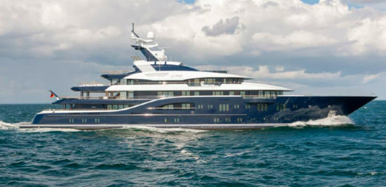 Продажа яхты Lurssen SOLANDGE