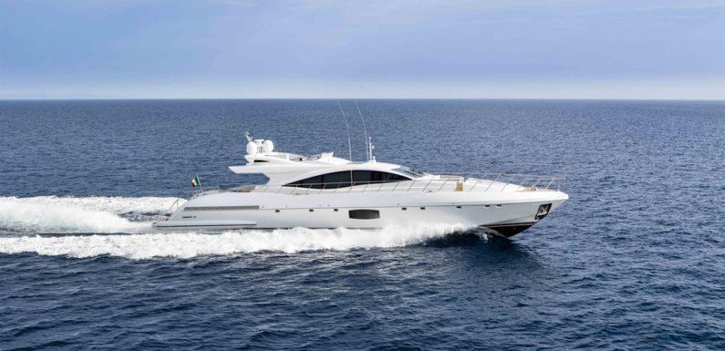 Продажа яхты Mangusta 110