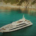 Океанская моторная яхта Aura от компании Heesen