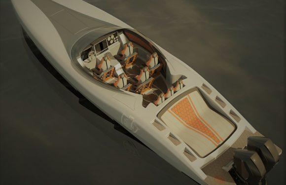 Новый быстроходный катер Canados Gladiator-411 Carbon S